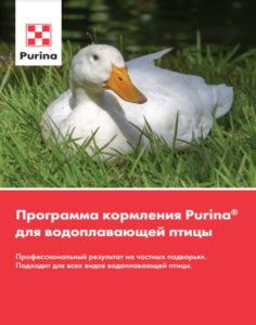Программа кормления водоплавающая птица